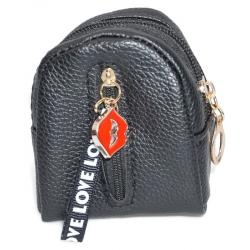 Brelok/portmonetka do kluczy czarny