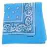 Chustka bawełniana chusta bandamka dzieci dorośli niebieski