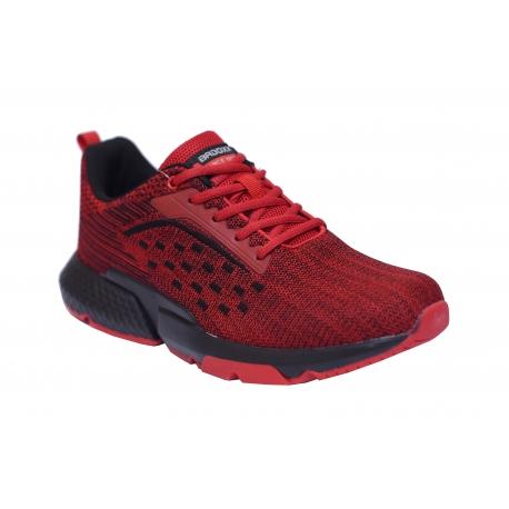 Obuwie sportowe męskie BADOXX MXC-8035 czerwone