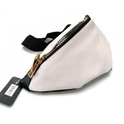 Nerka saszetka torebka  skóra ekologiczna biała sr
