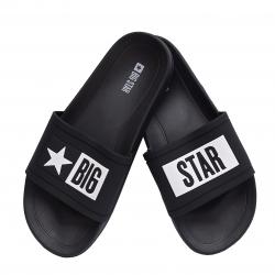Klapki męskie Big Star  DD174699906 czarne
