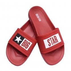 Klapki męskie Big Star  DD174702SS20 czerwone