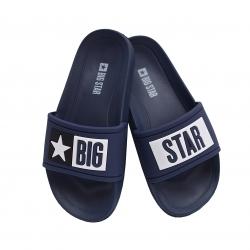 Klapki dziecięce Big Star  DD374152SS20 granat
