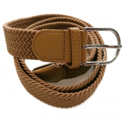Pasek pleciony gumowy do spodni elastyczny uniseks