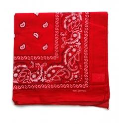 Chustka bawełniana chusta bandamka dzieci dorośli czerwony