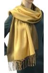 Szalik szal jesienno-zimowy ombre  złota nitka AX-62-4