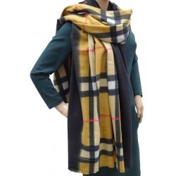 Szalik szal jesienno-zimowy modna krata AX-61-5