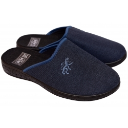 Kapcie męskie pantofle PAMI produkt polski czarny