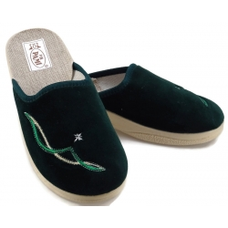 Pantofle kapcie damskie wygodne PAMI 025 granat
