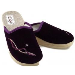 Pantofle kapcie damskie wygodne PAMI 025 zielony