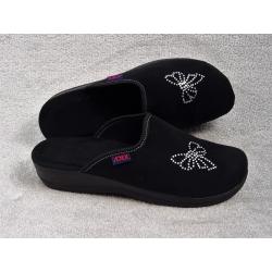 Pantofle kapcie damskie wygodne ADEX YY015CZ