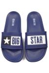 Klapki damskie Big Star DD274A265 granatowe