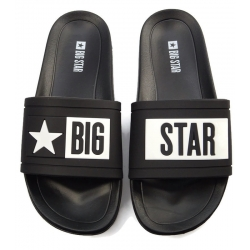 Klapki damskie Big Star DD274A266 czarne