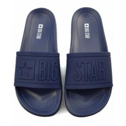 Klapki damskie Big Star DD274A269 czarne