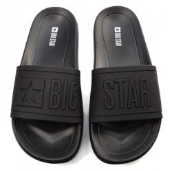 Klapki męskie Big Star  DD174690 czarne