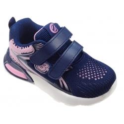 Buty sportowe dziecięce Clibee F-18 granat/róż