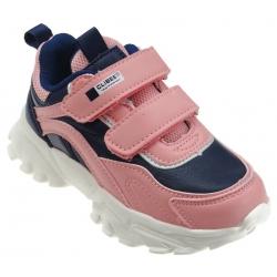 Buty sportowe dziecięce Clibee F-21 róż/granat