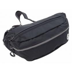 Saszetka nerka męska torba NER-M-17 czarna duża