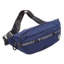 Saszetka nerka męska torba NER-M-18 niebieska duża