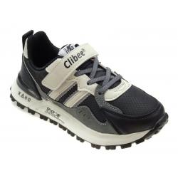 Buty sportowe dziecięce Clibee L217 czarny/biały
