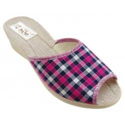 Pantofle damskie 084 PAMI kratka