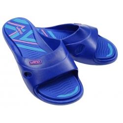Klapki damskie basenowe LANO 3060-15 niebieski