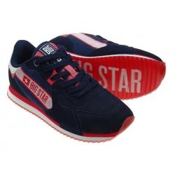 Sneakersy damskie Big Star II274270 zamszowe