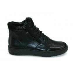 Sneakersy skórzane WB 260 czarny