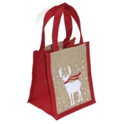 Opakowanie na prezent torebka świąteczna