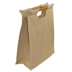 Opakowanie na prezent duża torba z JUTY